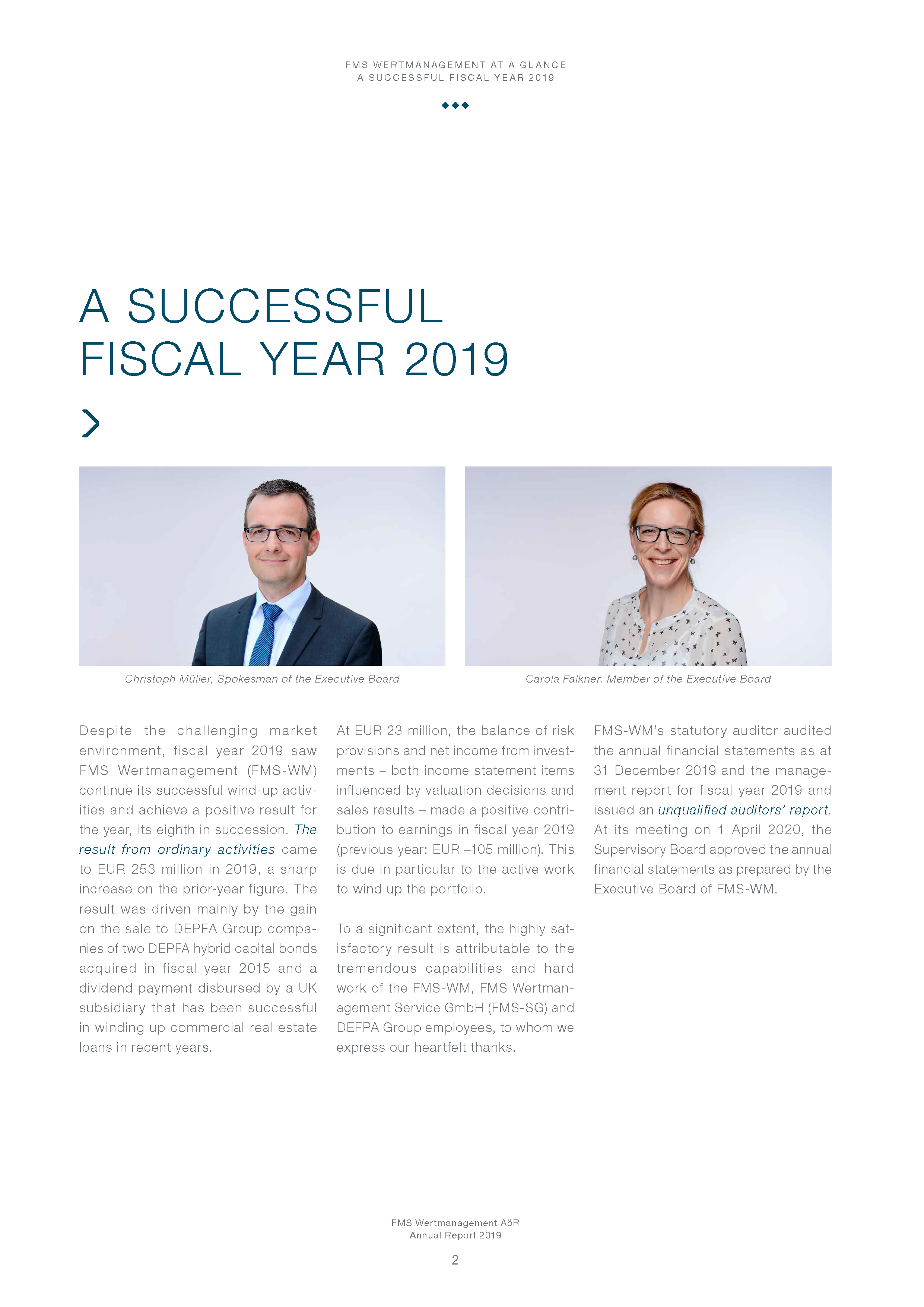 A successful fiscal year 2019 preview